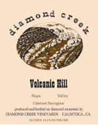 Diamond creek volcanic hill