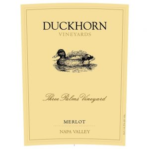 duckhoen merlot three palsms vineyard