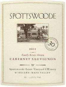 spottswood cabernet sauvignon