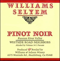 williams selyem pinot westside